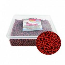 Tavi haltáp - Pond ball magic red (6 mm) 1000 ml