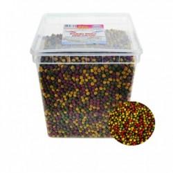Tavi haltáp - Pond ball tricolor (6 mm) 5000 ml